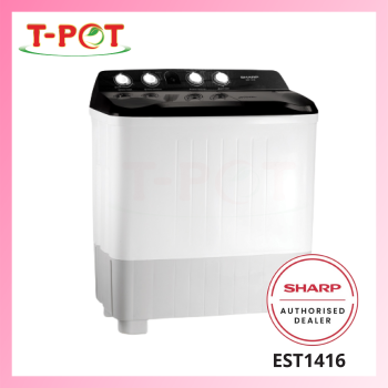 SHARP 14kg Semi-Auto Washing Machine EST1416