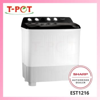 SHARP 12kg Semi-Auto Washing Machine EST1216