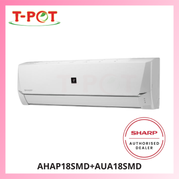 SHARP Plasmacluster 2.0HP Air Conditioner AHAP18SMD