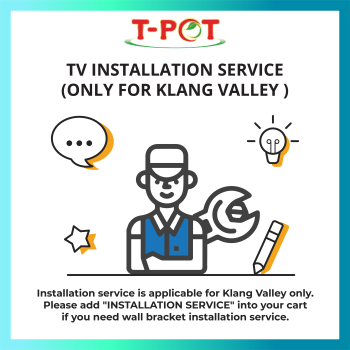 Installation Service (Klang Valley) for TV only