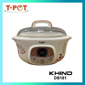KHIND 1.8L Double Boiler DB181