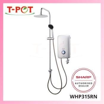 SHARP Shower Heater with DC Pump WHP315RN