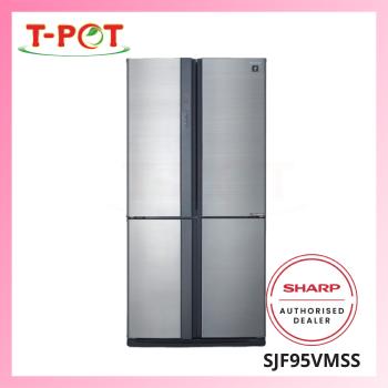 SHARP 750L French Door Refrigerator SJF95VMSS