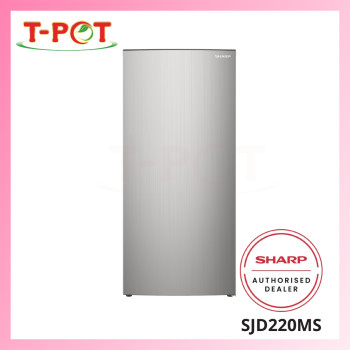 SHARP 189L 1-Door Refrigerator SJD220MS