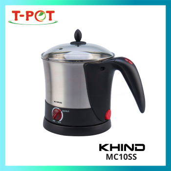 KHIND 1L Stainless Steel Noodle Cooker MC10SS