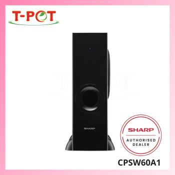 SHARP 60W Bluetooth Wireless Subwoofer CPSW60A1