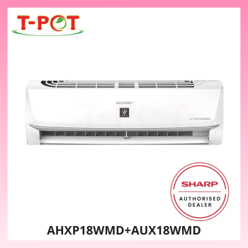 SHARP 2.0HP Inverter Plamacluster Air Conditioner AHXP18WMD