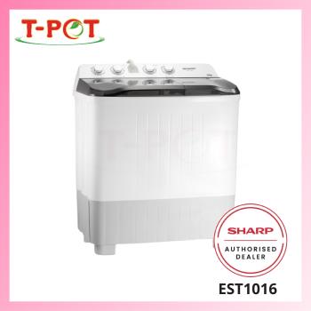 SHARP 10kg Semi-Auto Washing Machine EST1016