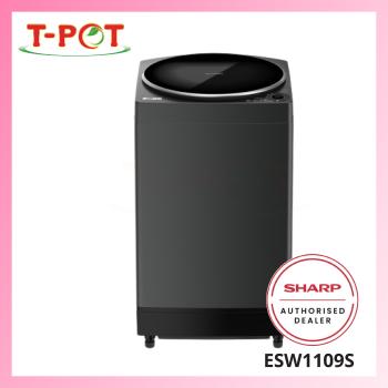 SHARP 11kg No Hole Washing Machine ESW1109S