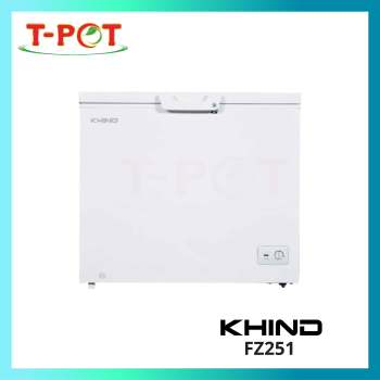 KHIND 251L Chest Freezer FZ251