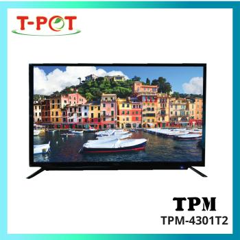 """TPM 43"""" LED Full HD Digital TV"""