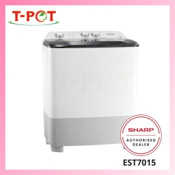 SHARP 7kg Semi-Auto Washing Machine EST7015