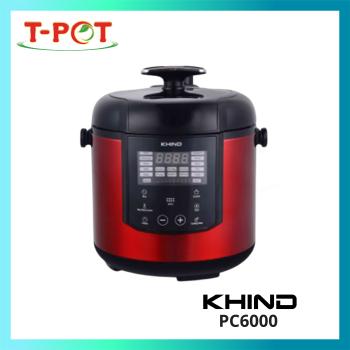 KHIND 6L Electric Pressure Cooker PC6000