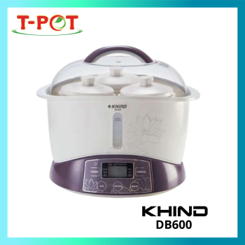 KHIND 3.2L Double Boiler DB600
