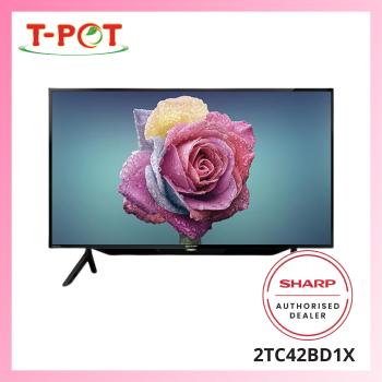 "SHARP AQUOS 42"" HD Ready Digital TV 2TC42BD1X"