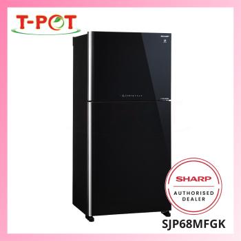 SHARP 610L Pelican Refrigerator SJP68MFGK