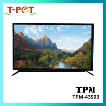 """TPM 43"""" LED Full HD Digital Smart TV"""