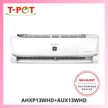 SHARP 1.5HP AIoT Inverter Plamacluster Air Conditioner AHXP13WHD