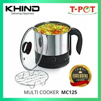 KHIND 1.2L Mini Multi Cooker MC12S