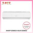 SHARP Plasmacluster 1.5HP Air Conditioner AHAP12SMD2 - T-Pot @ Kota Kemuning