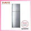 SHARP 320L 2-Door Inverter Refrigerator SJ326MSS - T-Pot @ Kota Kemuning