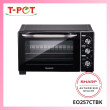 SHARP 25L Electric Oven EO257CTBK - T-Pot @ Kota Kemuning