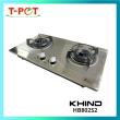 KHIND Built-in Stainless Steel Gas Hob HB802S2 - T-Pot @ Kota Kemuning