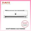 SHARP 2.0HP Inverter Plamacluster Air Conditioner AHXP18WMD - T-Pot @ Kota Kemuning