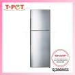 SHARP 280L 2-Door Inverter Refrigerator SJ286MSS - T-Pot @ Kota Kemuning