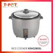SHARP 2.2L Rice Cooker KSH228SSL - T-Pot @ Kota Kemuning
