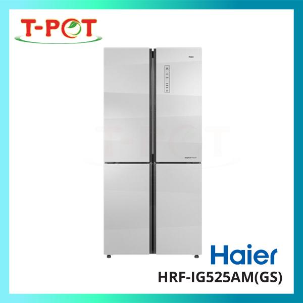 HAIER 516L 4-Door Inverter Refrigerator HRF-IG525AM(GS) - T-Pot @ Kota Kemuning