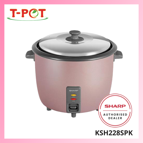 SHARP 2.2L Rice Cooker KSH228SPK - T-Pot @ Kota Kemuning