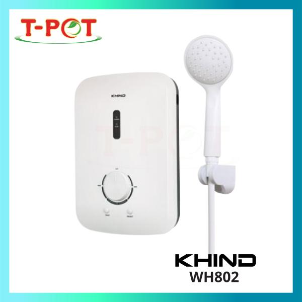 KHIND Water Heater Shower WH802 - T-Pot @ Kota Kemuning