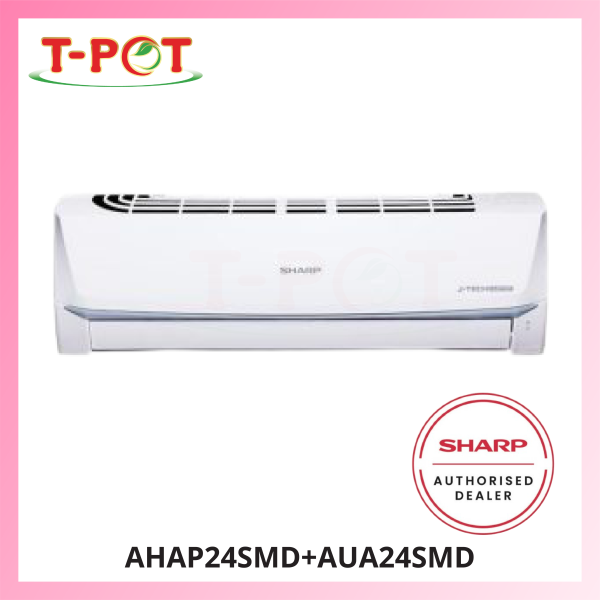 SHARP Plasmacluster 2.5HP Air Conditioner AHAP24SMD - T-Pot @ Kota Kemuning