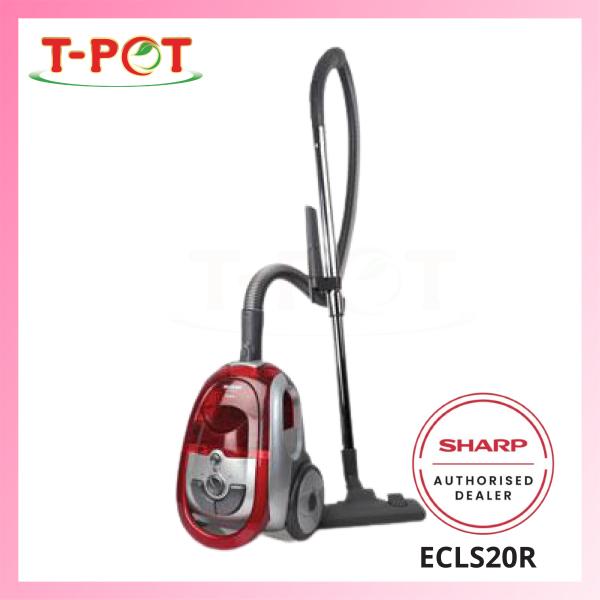 SHARP 2000W Bagless Vacuum Cleaner ECLS20R - T-Pot @ Kota Kemuning