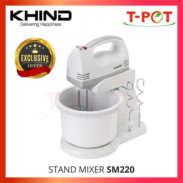 KHIND Stand Mixer SM220 - T-Pot @ Kota Kemuning