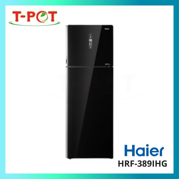 HAIER 340L 2-Door Inverter Refrigerator HRF-389IHG - T-Pot @ Kota Kemuning
