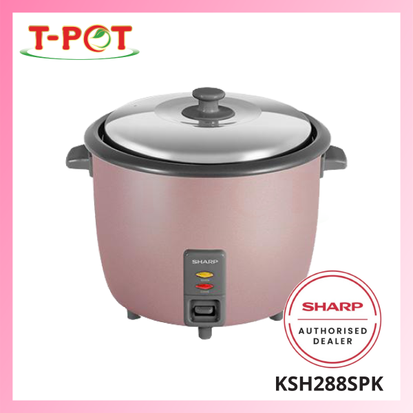 SHARP 2.8L Rice Cooker KSH288SPK - T-Pot @ Kota Kemuning