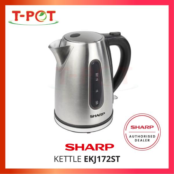 SHARP 1.7L Kettle EKJ172ST - T-Pot @ Kota Kemuning