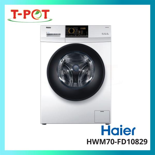 HAIER 7kg Front Load Inverter Washing Machine HWM70-FD10829 - T-Pot @ Kota Kemuning