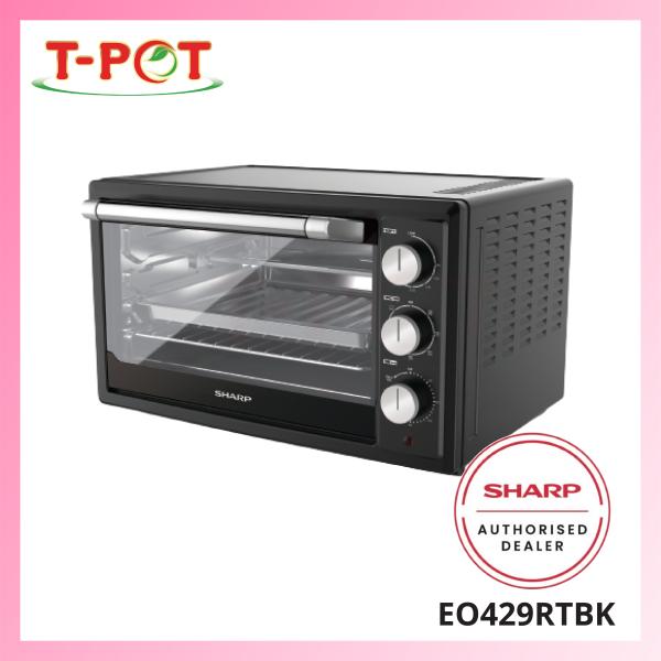 SHARP 42L Electric Oven EO429RTBK - T-Pot @ Kota Kemuning