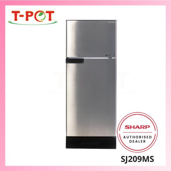 SHARP 190L 2-Door Inverter Refrigerator SJ209MS - T-Pot @ Kota Kemuning
