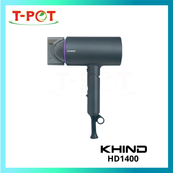KHIND Hair Dryer HD1400 - T-Pot @ Kota Kemuning