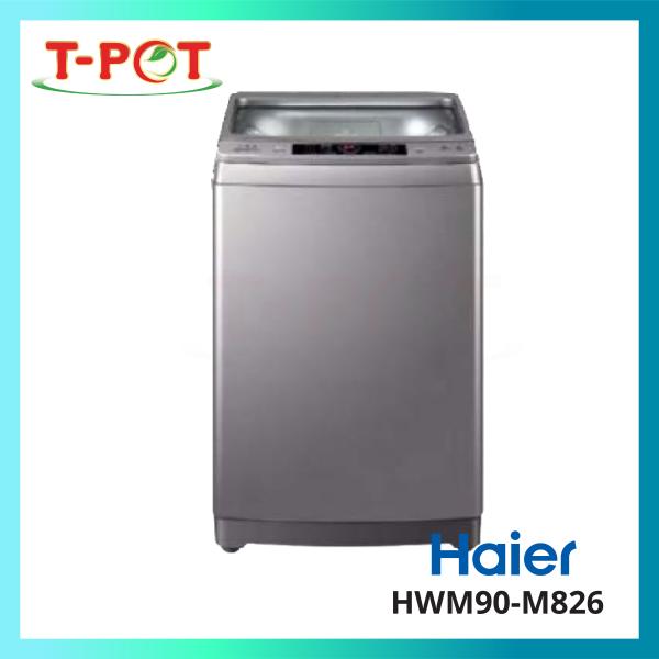 HAIER 9kg Top Load Washing Machine HWM90-M826 - T-Pot @ Kota Kemuning