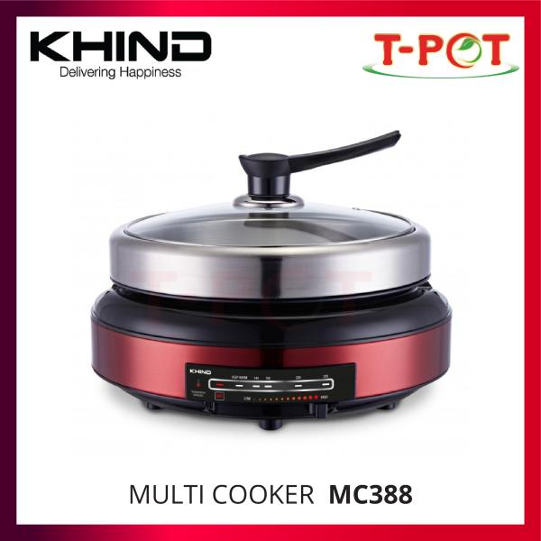 KHIND Multi Cooker MC388 - T-Pot @ Kota Kemuning