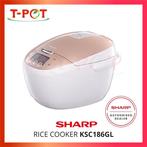 SHARP 1.8L Digital Rice Cooker KSC186GL - T-Pot @ Kota Kemuning