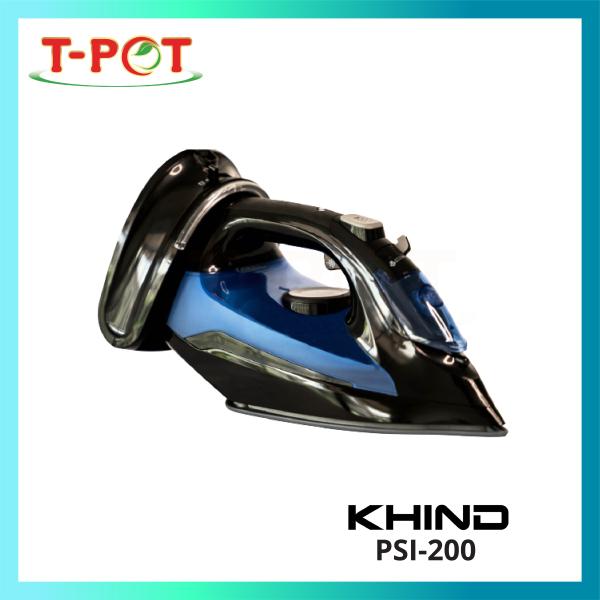 KHIND Cordless Steam Iron PSI-200 - T-Pot @ Kota Kemuning