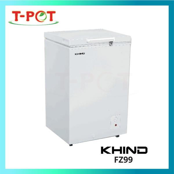 KHIND 99L Chest Freezer FZ99 - T-Pot @ Kota Kemuning