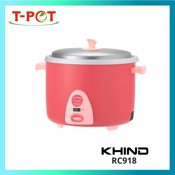 KHIND 1.8L Rice Cooker RC918 - T-Pot @ Kota Kemuning
