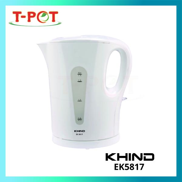 KHIND 1.7L Electric Kettle EK5817 - T-Pot @ Kota Kemuning